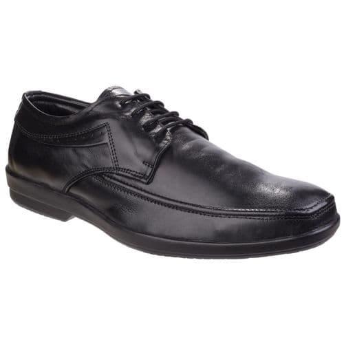Fleet & Foster Dave Lace Mens Shoes Black